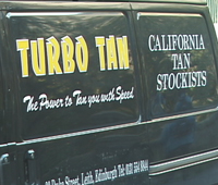 Turbo Tan van